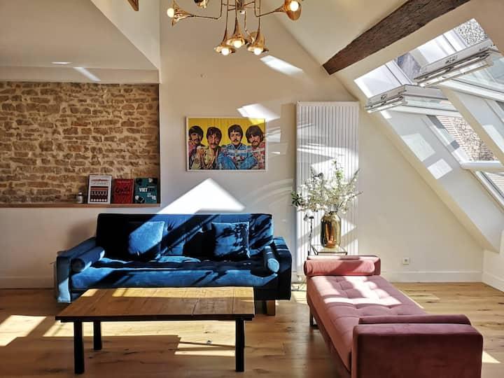 The white album - 190 m2  Beaune Centre Historique
