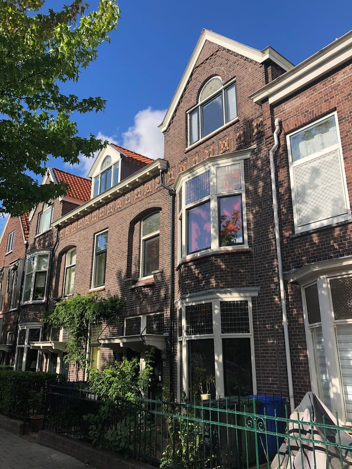 Comfortable room close to TU Delft and city centre