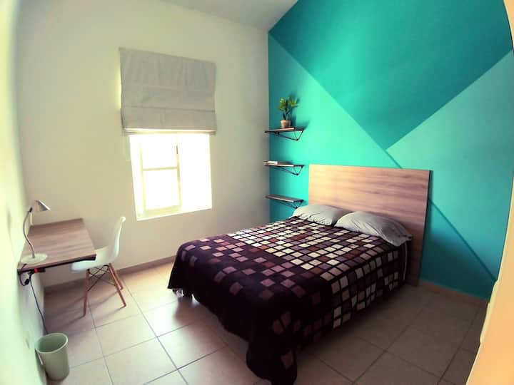 Hermosas habitaciones y baño privado. 2 Pers X hab