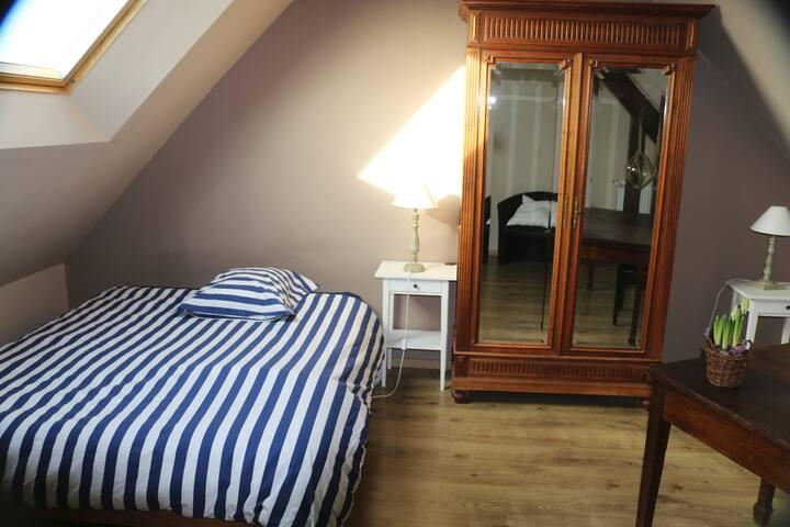 Agréables chambres d'hôtes à 15 minutes de St Malo - Plerguer - Rumah