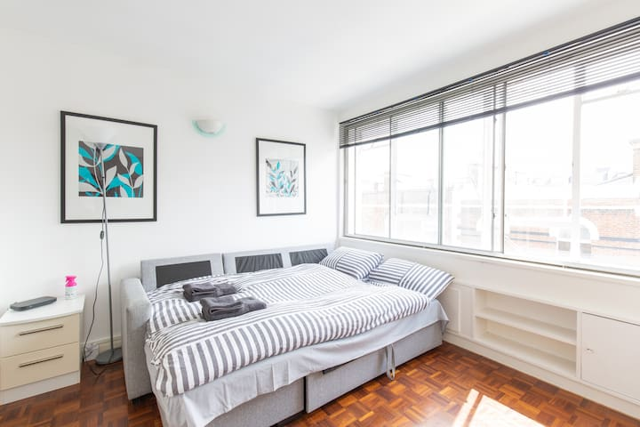 Bright & Modern Studio flat in Paddington - Zone 1