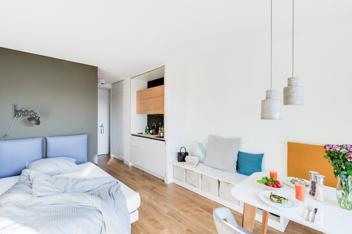 Serviced Apartment - Studio in Karlshorst