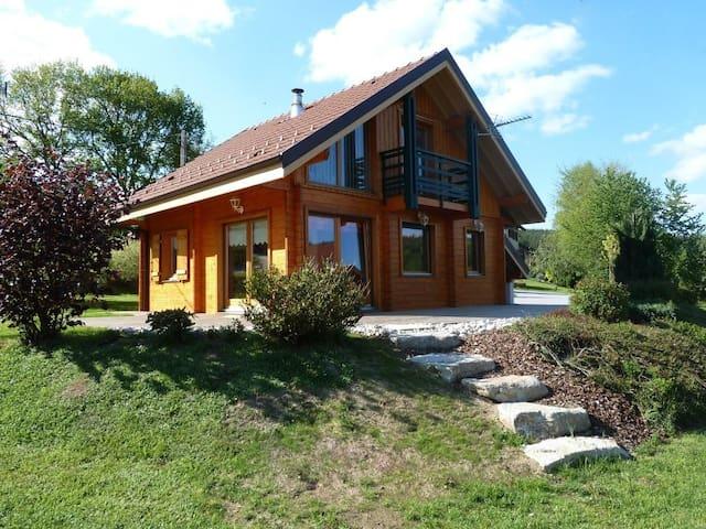 Chalet Hautes Vosges - Le Tholy - Hytte (i sveitsisk stil)