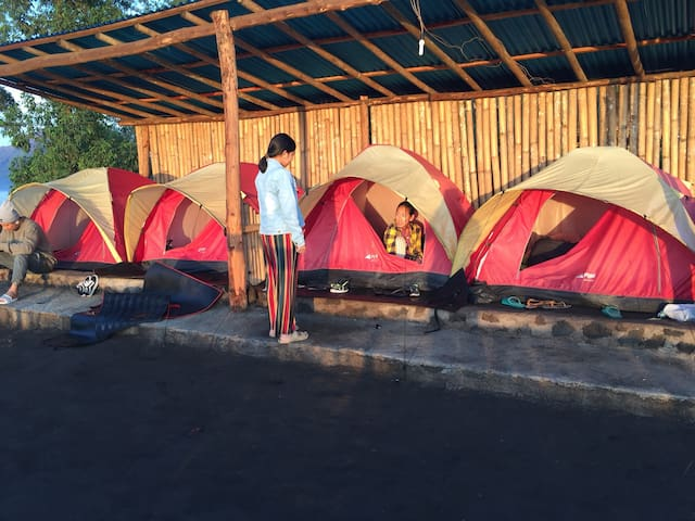 Bali alengkong camp and mount batur sunrise hikke