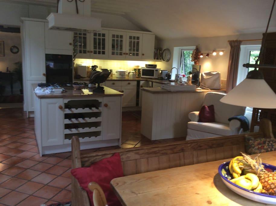 Kitchen, day room/diner