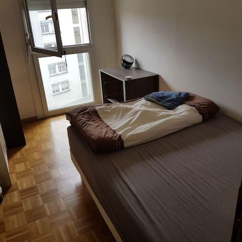 Chambre dans grand appartement convivial