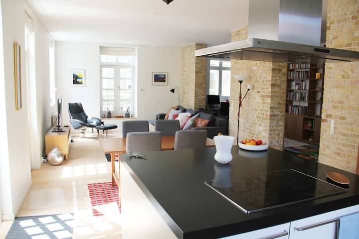 Large apartment in the city centre