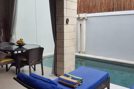 Cozy villa 2 BR + Pool - North Kuta