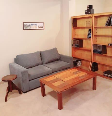 Ambiente confortable en el centro