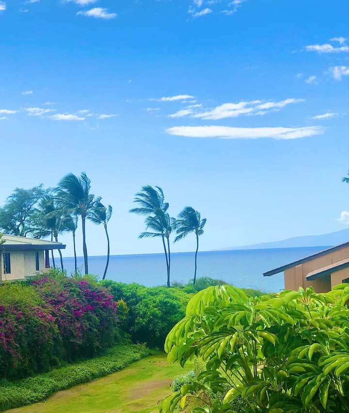 *Updated * Partial Ocean View - Wailea Ekahi 6F