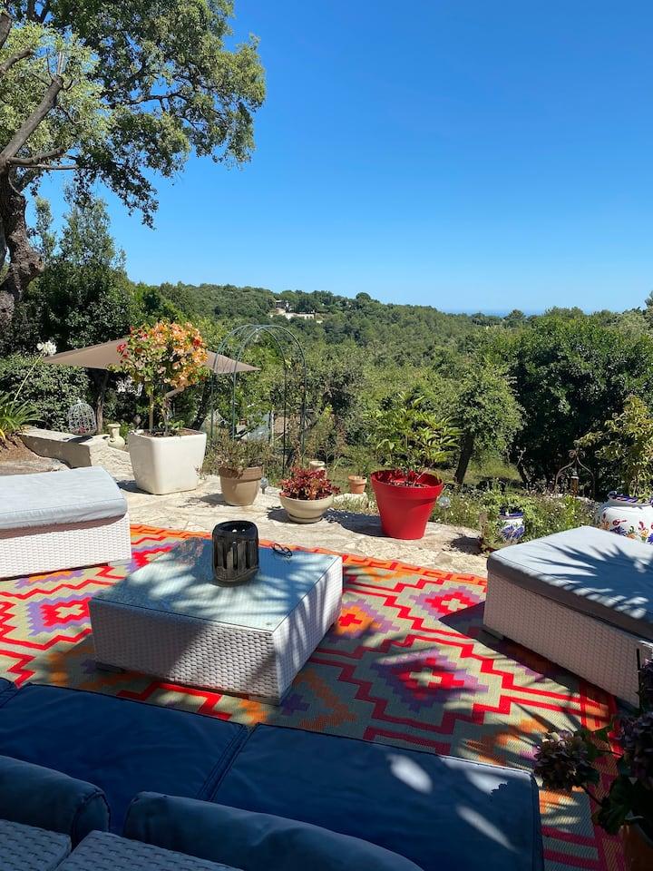 Très belle et charmante villa à Biot/Cannes/Nice