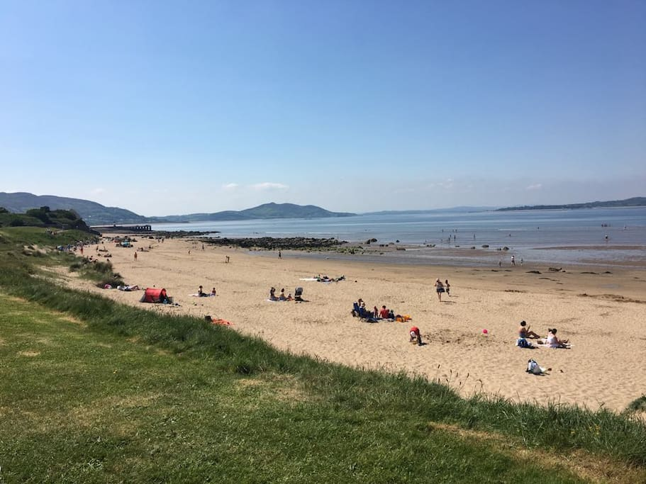 Only a 5 minute walk from the Shore Front Beach & Children's Play Area