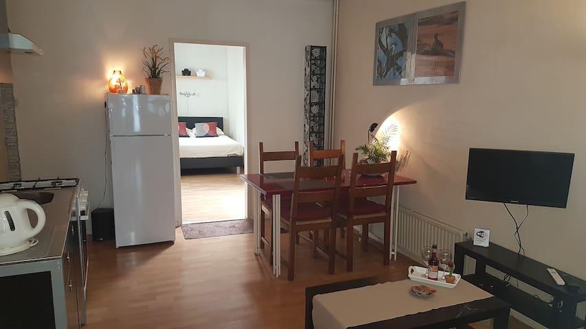 Gemeubileerd appartement in Hilversum