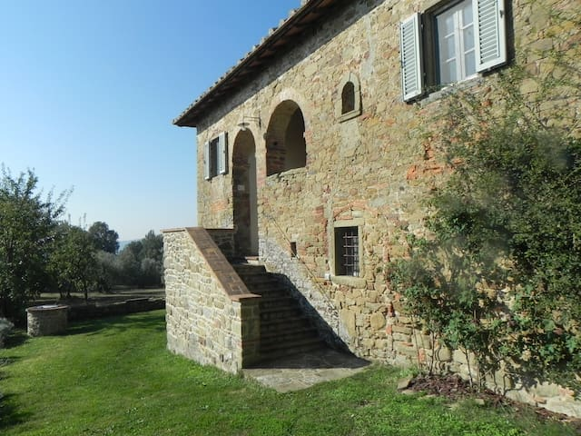 Podere Santa Cristina, Ciggiano, Arezzo - Civitella in Val di Chiana - Casa