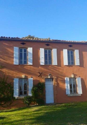 Maison de campagne Lauragais - Saint-Félix-Lauragais - Rumah