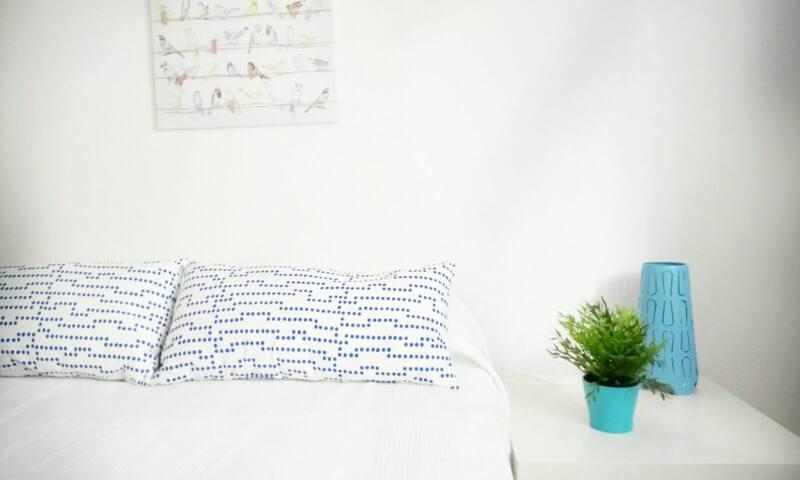 Habitaciones tranquilas y confortables en Delicias