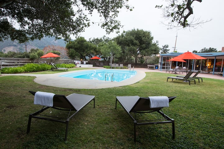 Carmel Valley Poolside Cottage at Blue Sky Lodge