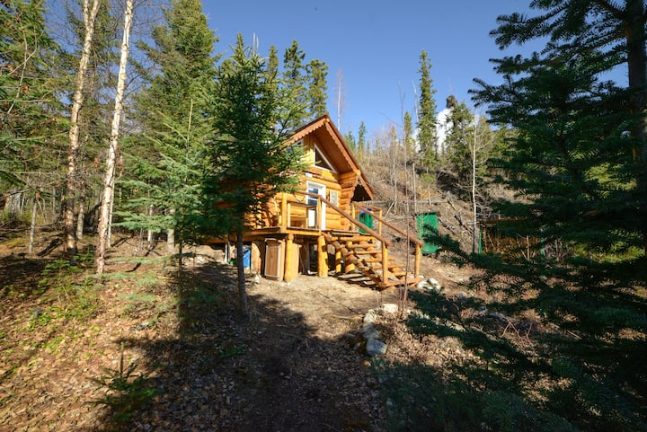 Wilderness Cabins for rent at Little Salmon Lake