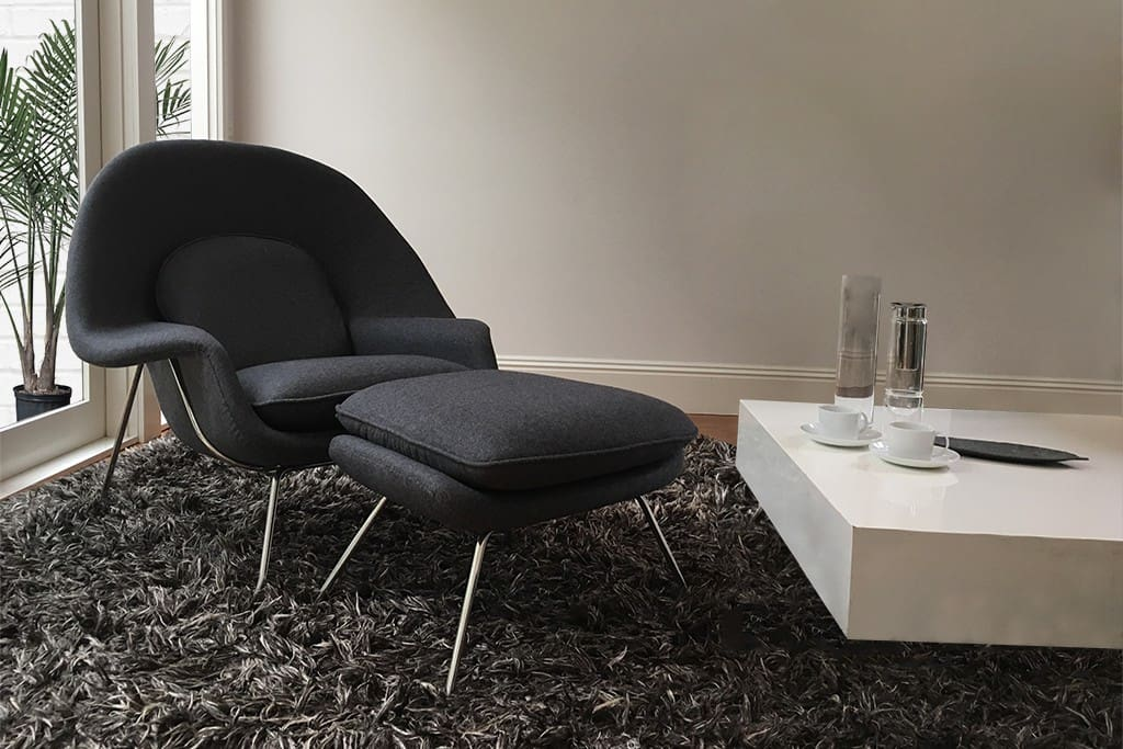My favourite chair in the lounge room to sit back and relax in after work.