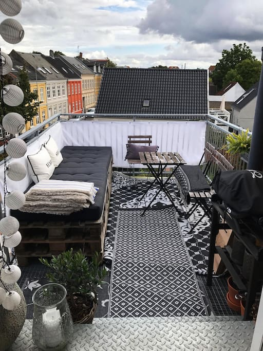 Balcony with a lovely view