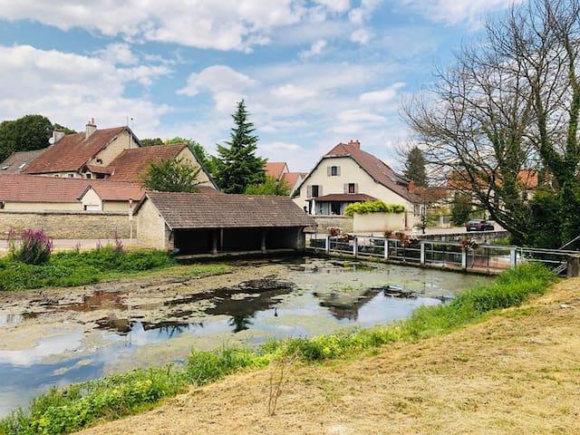 Maison au calme aux portes de Dijon