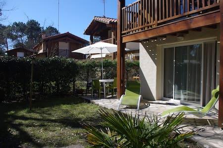 Villa 6 pers Vieux Boucau: 100m du lac marin - Lagrange