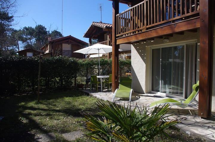 Villa 6 pers Vieux Boucau: 100m du lac marin