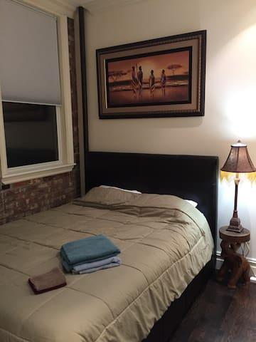 Bedroom in Luxury East Village Apartment