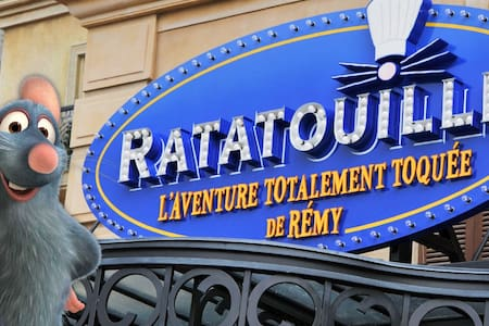 RATATOUILLE / DISNEYLAND PARIS 5MIN... - ビュセ・サン・ジョルジュ