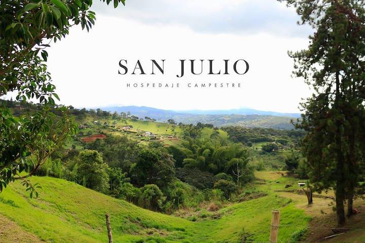 Hospedaje Finca San Julio (descuento)