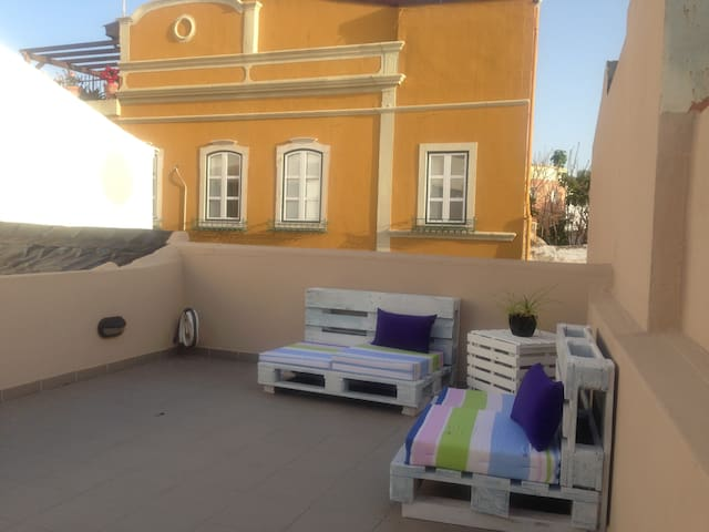 Cozy Typical House CITY CENTER/ Old Town W/TERRACE - Faro - Talo