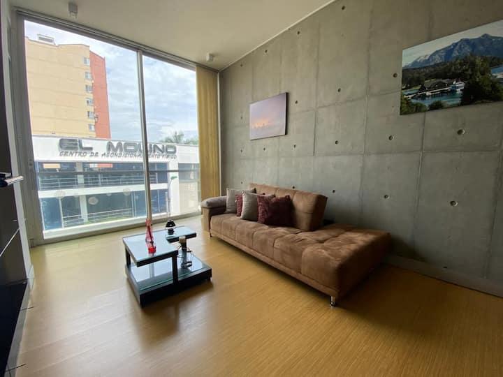 Espectacular apartaestudio Ciudad Jardin Rio 316