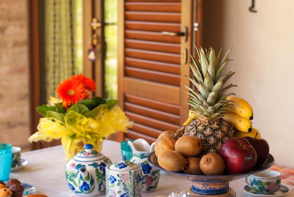 Colazione all'aperto - Al fresco breakfast