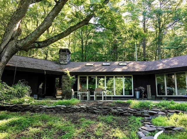 MIDCENTURY /INDUSTRIAL SANCTUARY in the WILDS