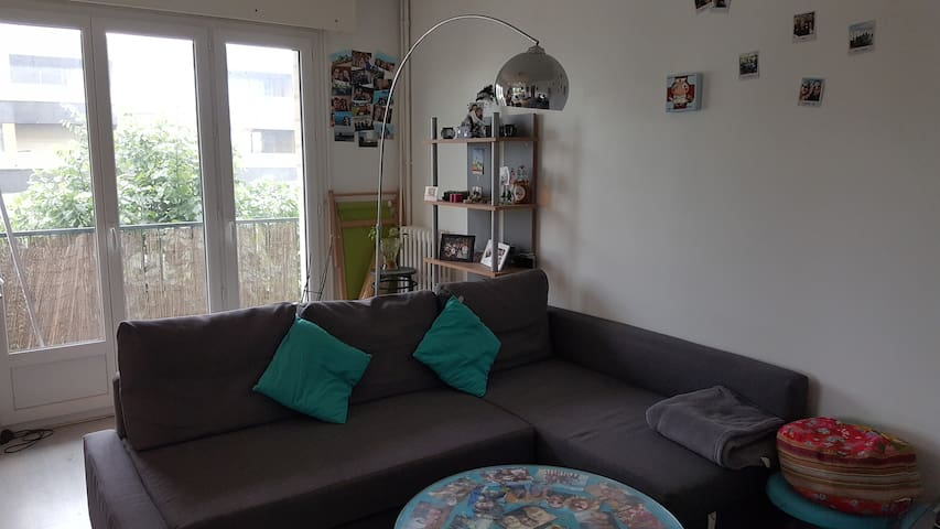 Appartement F2 caen avec parking - Caen - Flat