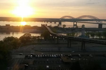 Best View Downtown! Walk To Many Attractions - Memphis