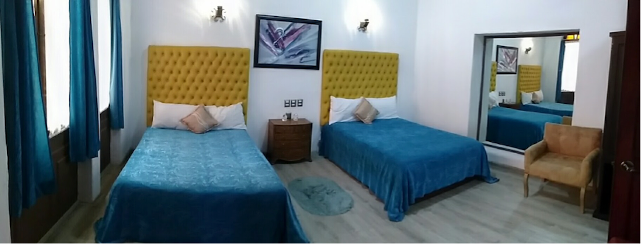 ¡Accommodation for 4 people!