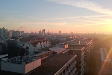 Over the roofs of Munich - 慕尼黑 - 公寓