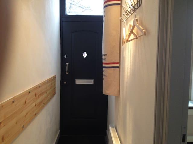 The private entrance