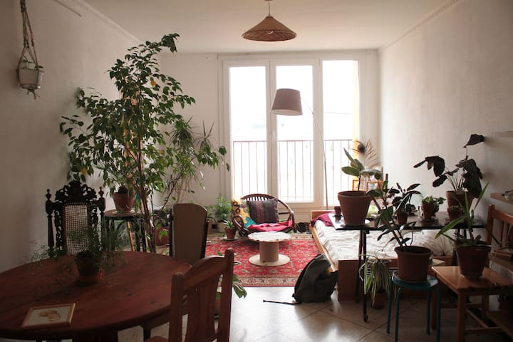 chambre 15m2 dans colocation- terrasse 60m2