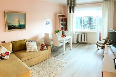 A perfect apartment near the beach + 5 free bikes - Pärnu