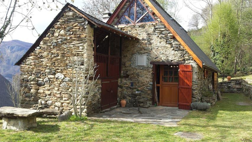 Grange pyrénéenne rénovée - Argelès-Gazost - Rumah