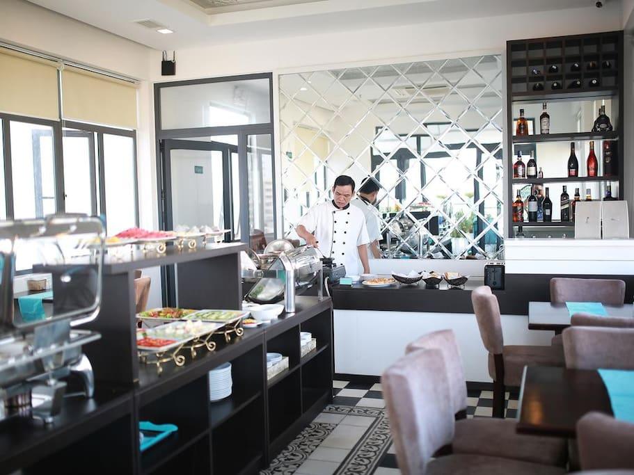 We serve great food