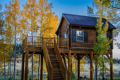 The Treehouse Cabin # No Pets Allowed.