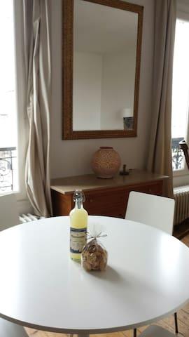 Bright & quiet flat. 20mn frm Paris - Maisons-Laffitte - Apartemen