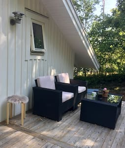 Welcome to a new cosy cottage 20 min from Göteborg
