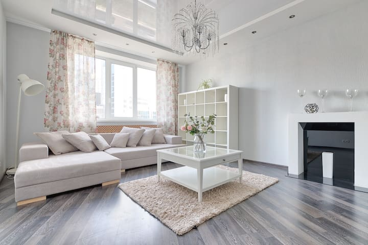 Great location in the city centre + free parking