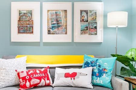Live Like a Local in a Renovated Century Home Guest Suite