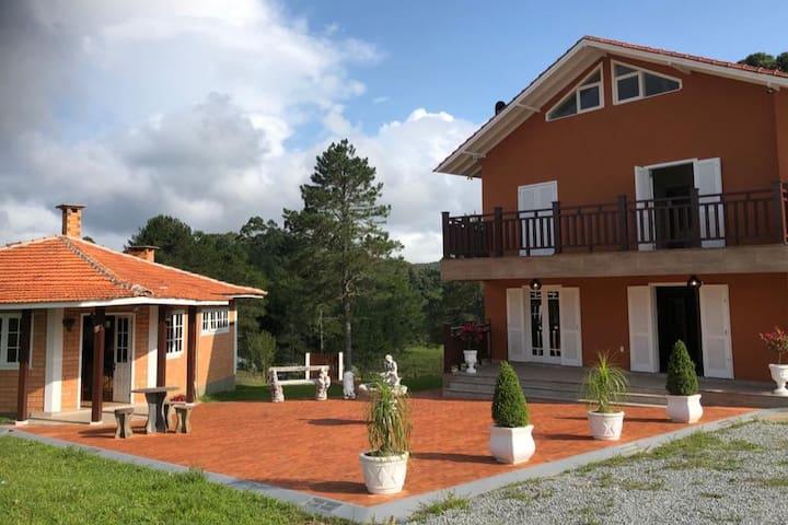 Linda Casa (sítio/chácara/pousada) Rancho Queimado