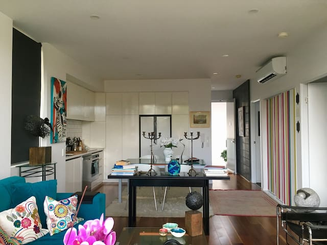 Bohemian Chic Apt 15 mins from Surfers Paradise